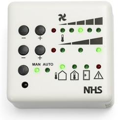 NHS Bediening handmatig